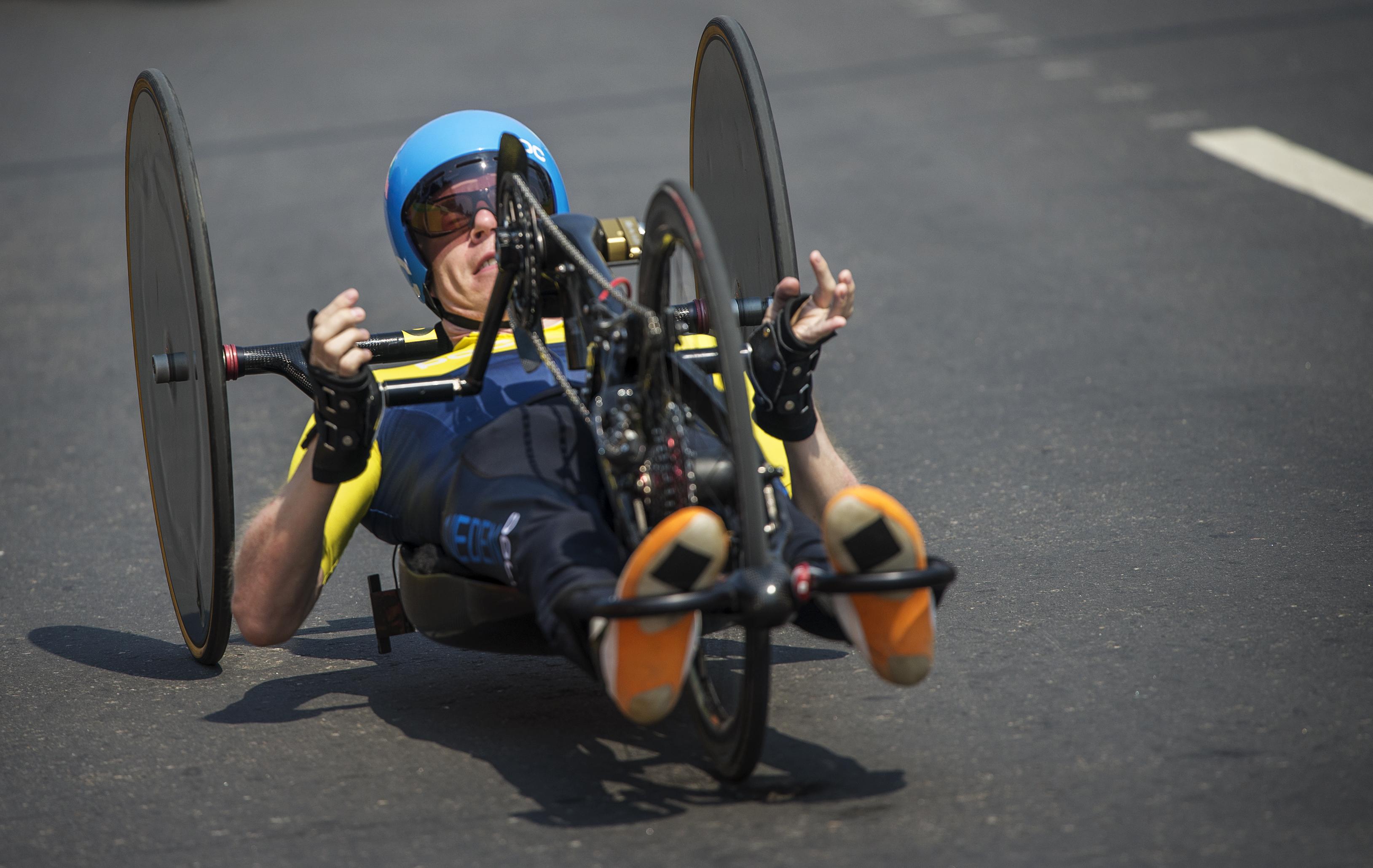 Paralympics Rio Time Trial Anders Bäckman
