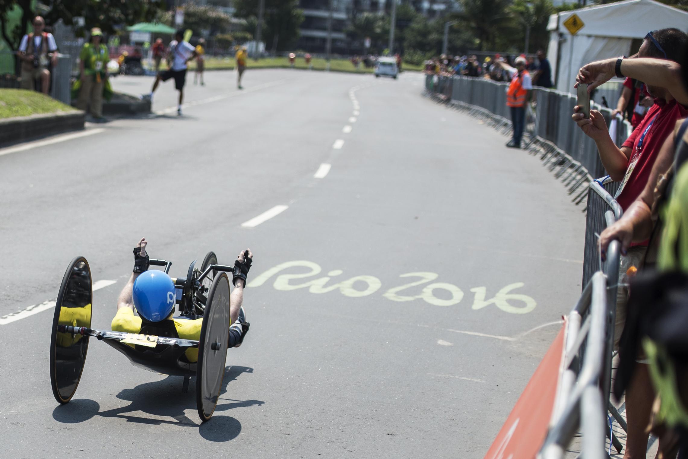 Rio2016 Handcyclist Anders Bäckman